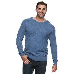 Big & Tall Croft & Barrow® Classic-Fit 12GG V-Neck Sweater