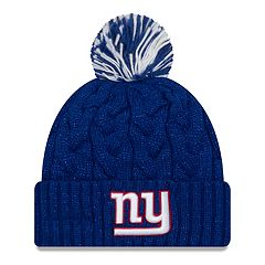 Adult New Era New York Giants Cable Knit Beanie