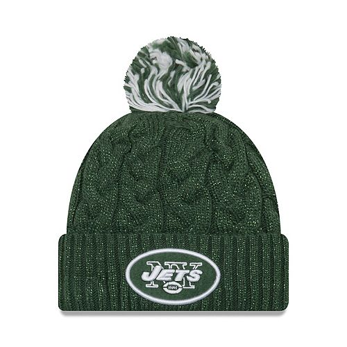 Adult New Era New York Jets Cable Knit Beanie