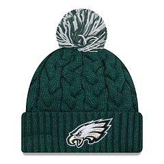 Adult New Era Philadelphia Eagles Cable Knit Beanie