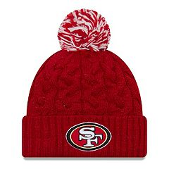 Adult New Era San Francisco 49ers Cable Knit Beanie