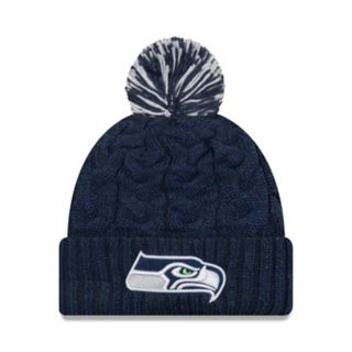Adult New Era Seattle Seahawks Cable Knit Beanie