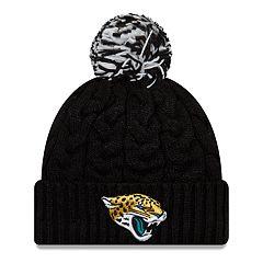 Adult New Era Jacksonville Jaguars Cable Knit Beanie