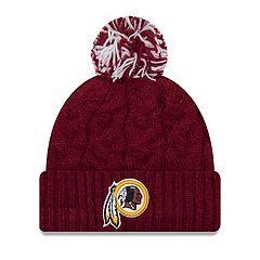 Adult New Era Washington Redskins Cable Knit Beanie
