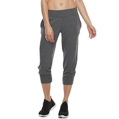 Women's Tek Gear® French Terry Jogger Capri Sweatpants