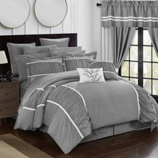 Mayan 24-piece Bedding & Window Curtain Set