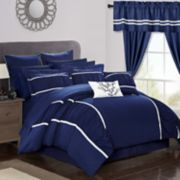 Mayan 24-piece Bedding & Window Curtain Set