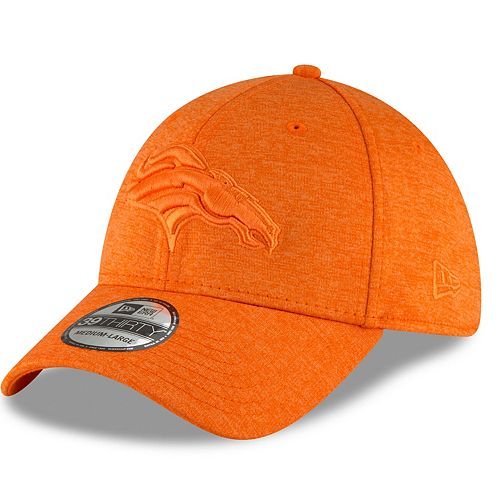 Adult New Era Denver Broncos 39THIRTY Heated Up Flex-Fit Cap