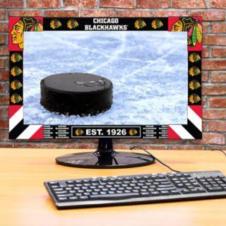 Chicago Blackhawks Big Game Monitor Frame