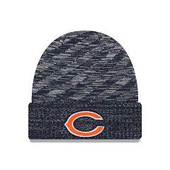Adult New Era Chicago Bears Striped Knit Beanie