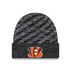 Adult New Era Cincinnati Bengals Striped Knit Beanie