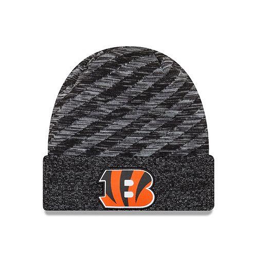 Adult New Era Cincinnati Bengals Striped Knit Beanie