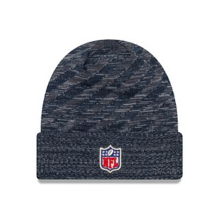 Adult New Era Denver Broncos Striped Knit Beanie