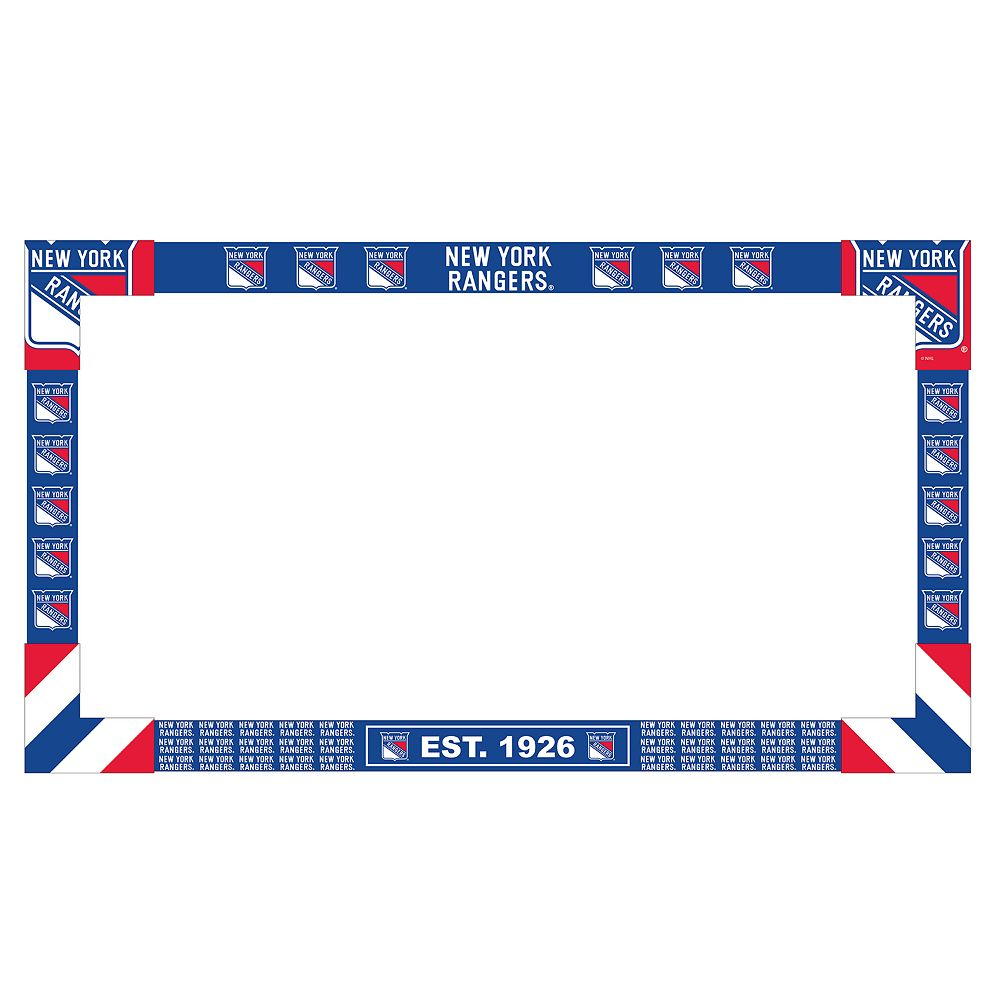 New York Rangers Big Game Monitor Frame