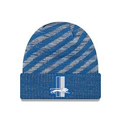 Adult New Era Detroit Lions Striped Knit Beanie
