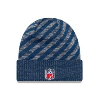 Adult New Era Indianapolis Colts Striped Knit Beanie