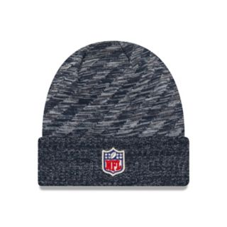 Adult New Era New England Patriots Striped Knit Beanie