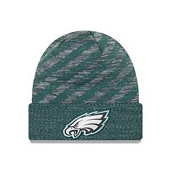 Adult New Era Philadelphia Eagles Striped Knit Beanie