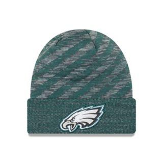 Adult New Era Philadelphia Eagles Striped Knit Beanie