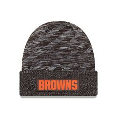Adult New Era Cleveland Browns Striped Knit Beanie