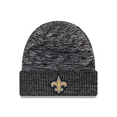 Adult New Era New Orleans Saints Striped Knit Beanie