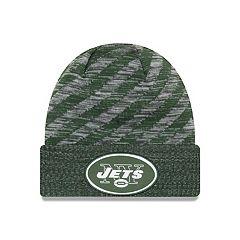 Adult New Era New York Jets Striped Knit Beanie