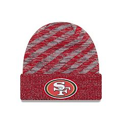 Adult New Era San Francisco 49ers Striped Knit Beanie