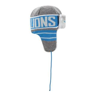 Adult New Era Detroit Lions Frosty Trapper Hat