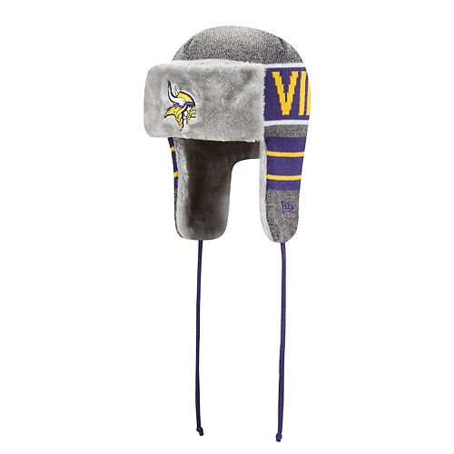 Adult New Minnesota Vikings Frosty Trapper Hat 71e088612a6