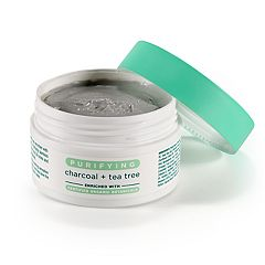Earth Therapeutics Dead Sea Mineral Clay Mask - Purifying Charcoal & Tea Tree