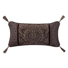 Marquis by Waterford Pierce Damask Oblong Throw Pillow
