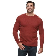 Big & Tall Croft & Barrow® Classic-Fit 7GG Super Soft Crewneck Sweater