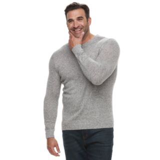 Big & Tall Croft & Barrow® Classic-Fit 7GG Super Soft Crewneck Sweater