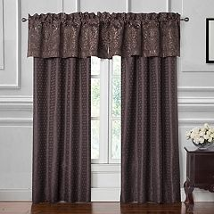 Marquis by Waterford Pierce Window Curtain Set