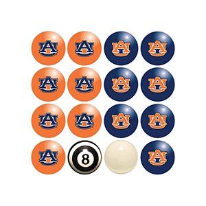 Auburn Tigers Home VS Away Billiard Ball Set