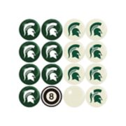 Michigan State Spartans Home VS Away Billiard Ball Set