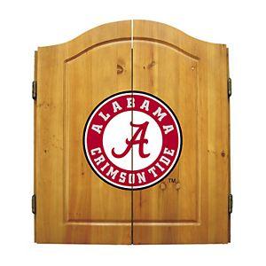Alabama Crimson Tide Dart Cabinet
