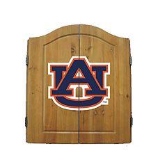 Auburn Tigers Dart Cabinet
