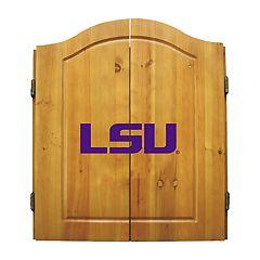 LSU Tigers Dart Cabinet