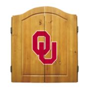 Oklahoma Sooners Dart Cabinet