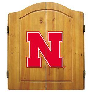 Nebraska Cornhuskers Dart Cabinet