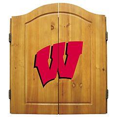 Wisconsin Badgers Dart Cabinet