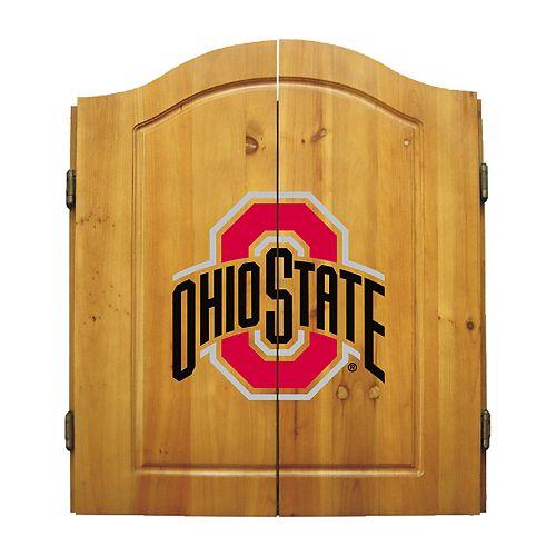 Ohio State Buckeyes Dart Cabinet