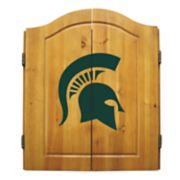 Michigan State Spartans Dart Cabinet