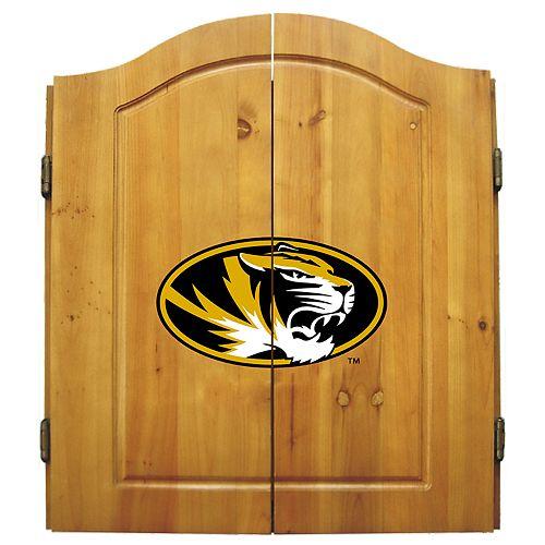 Missouri Tigers Dart Cabinet