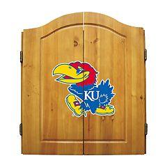 Kansas Jayhawks Dart Cabinet