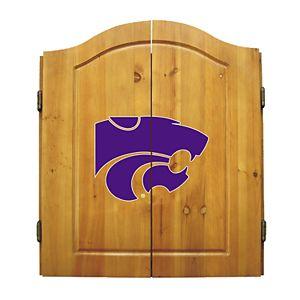 Kansas State Wildcats Dart Cabinet
