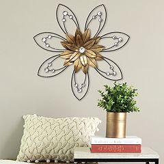 Stratton Home Decor Enchanting Flower ll Wall Decor