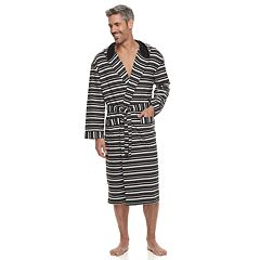 Men's Residence Jersey Knit Hooded Robe
