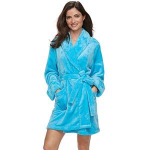 Women's SONOMA Goods for Life® Short Plush Robe